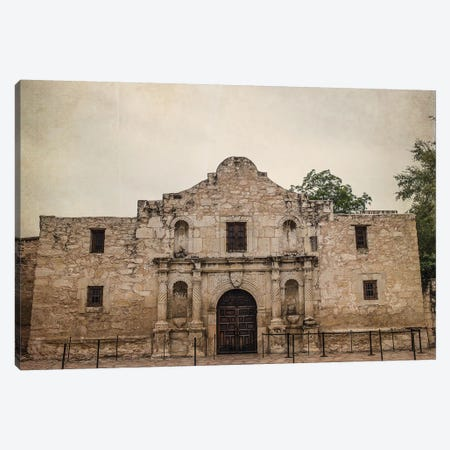 The Alamo Canvas Print #AHD165} by Ann Hudec Canvas Wall Art
