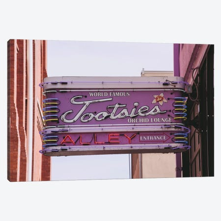 Tootsie'S Nashville Canvas Print #AHD170} by Ann Hudec Canvas Artwork