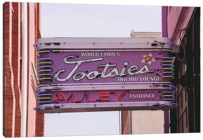 Tootsie'S Nashville Canvas Art Print