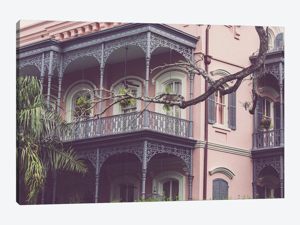 Uptown New Orleans by Ann Hudec 1-piece Canvas Art Print