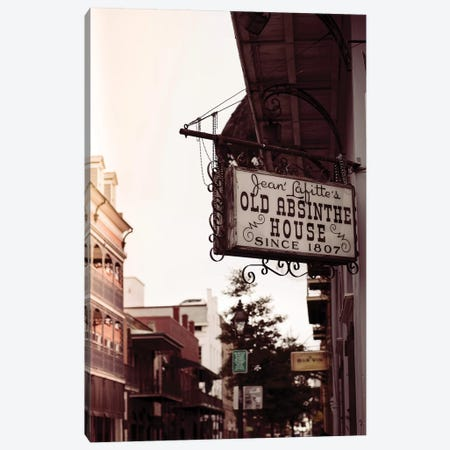 Vintage New Orleans II Canvas Print #AHD179} by Ann Hudec Canvas Art
