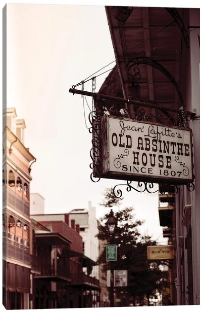 Vintage New Orleans II Canvas Art Print