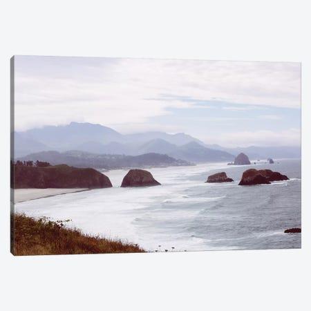 Cannon Beach Oregon Canvas Print #AHD19} by Ann Hudec Canvas Art Print