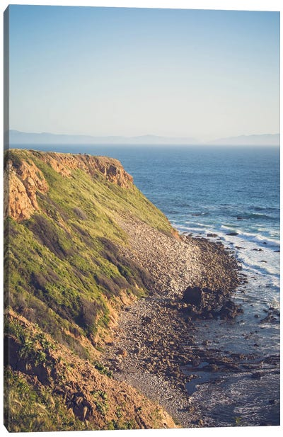 Palos Verdes California Coast Canvas Art Print