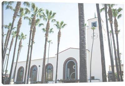 Union Station Los Angeles California Canvas Art Print