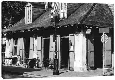 Lafitte's Bar New Orleans Canvas Art Print