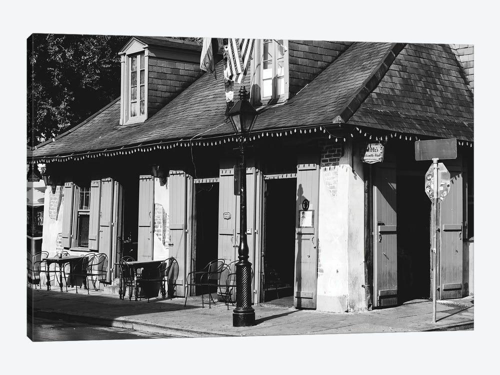 Lafitte's Bar New Orleans by Ann Hudec 1-piece Canvas Print