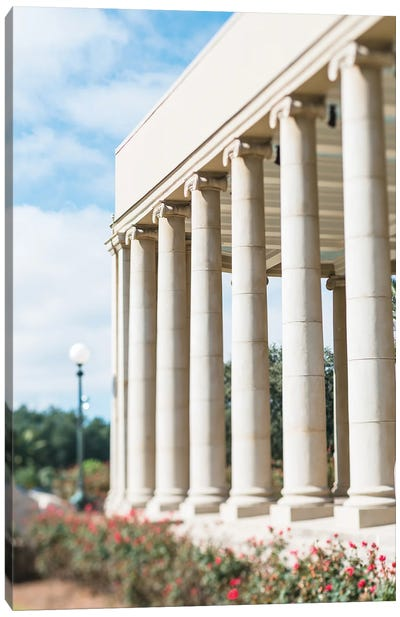 The Peristyle New Orleans City Park Canvas Art Print