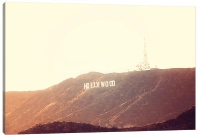 Hollywood Gold No. 2 Canvas Art Print