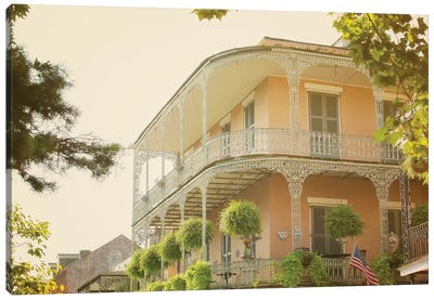 Summer in the French Quarter Canvas Art Print