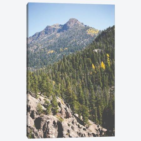 Rugged Mountains In Autumn Canvas Print #AHD226} by Ann Hudec Canvas Print