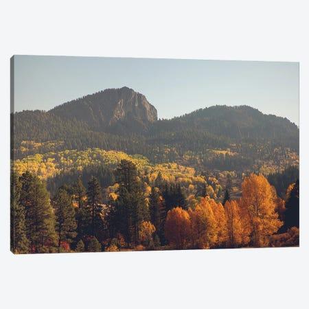 Colorful Colorado Autumn In The Mountains Canvas Print #AHD232} by Ann Hudec Canvas Art Print