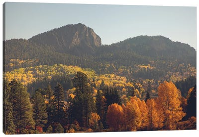 Colorful Colorado Autumn In The Mountains Canvas Art Print