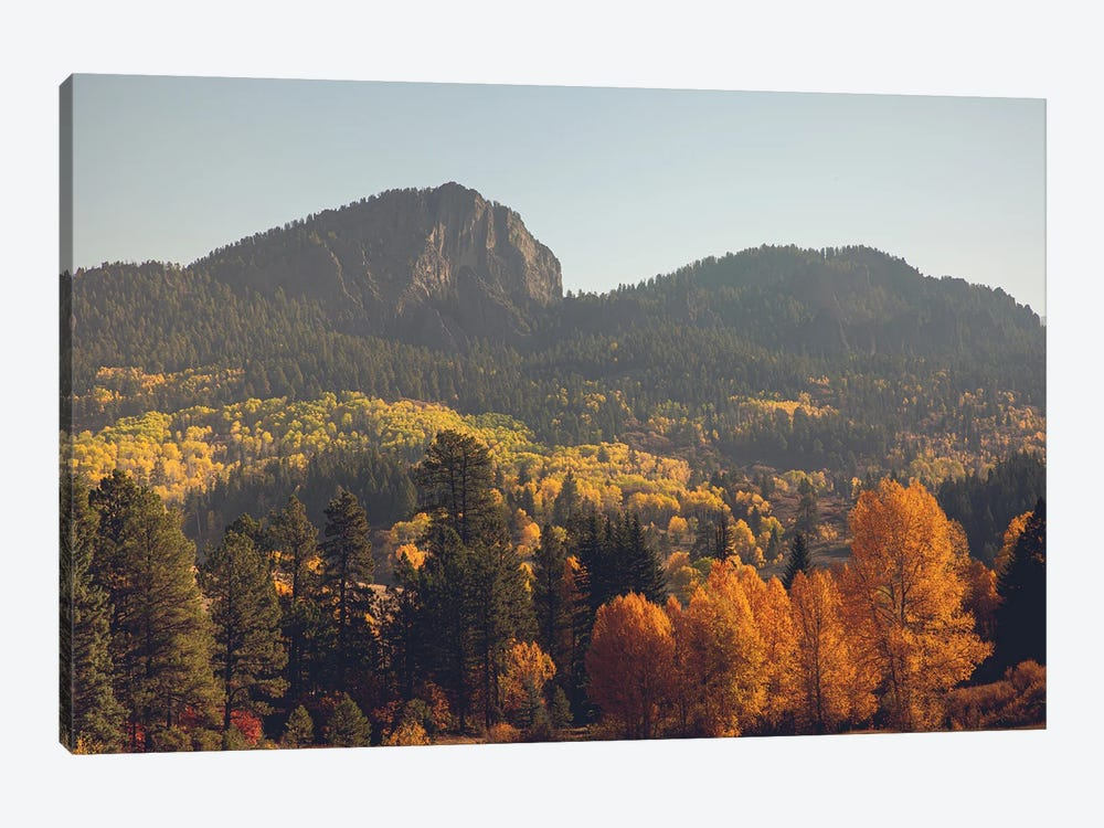 Colorful Colorado Autumn In The Mountains by Ann Hudec 1-piece Canvas Art