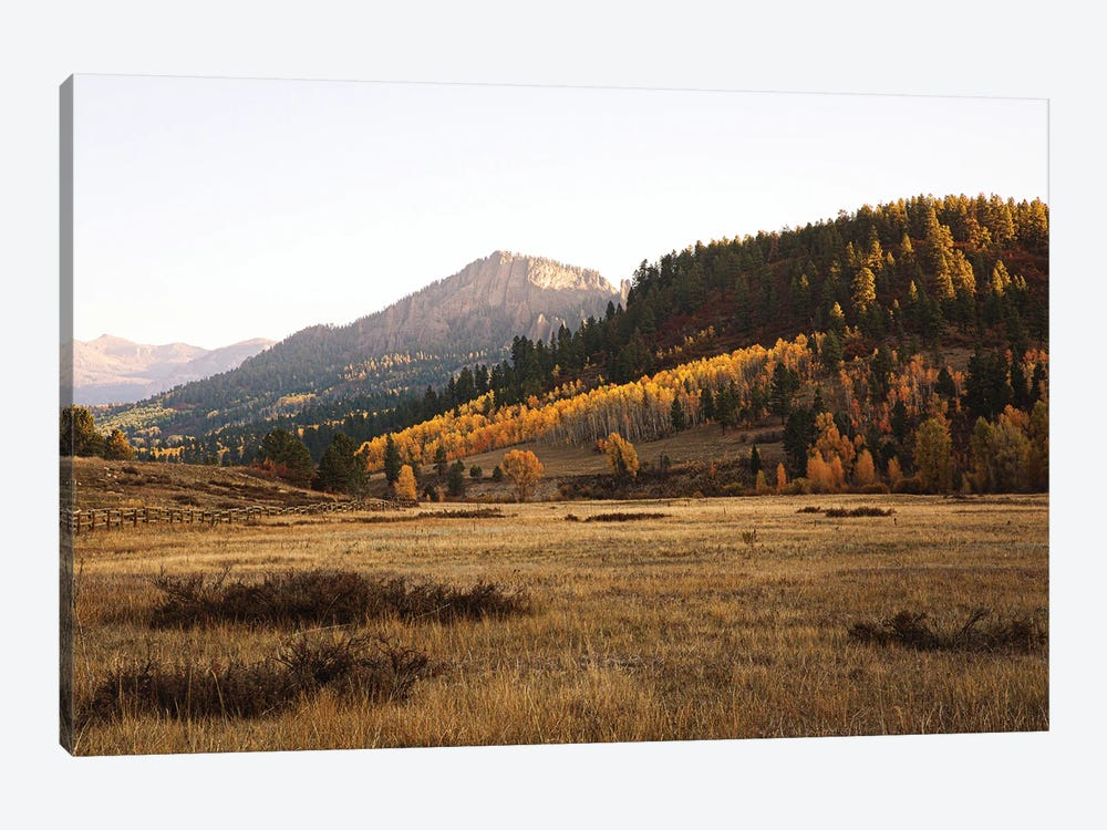 Colorful Colorado Autumn In The Mountains II by Ann Hudec 1-piece Canvas Art Print