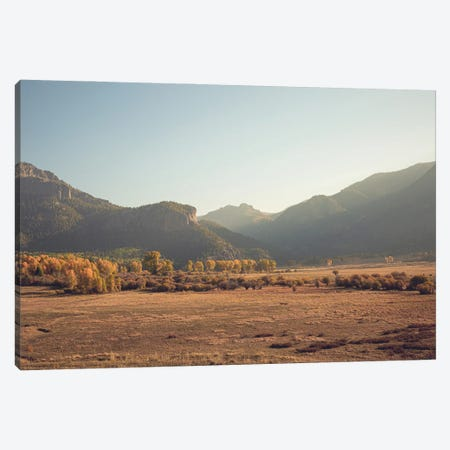 Colorful Colorado Autumn In The Mountains III Canvas Print #AHD234} by Ann Hudec Canvas Wall Art