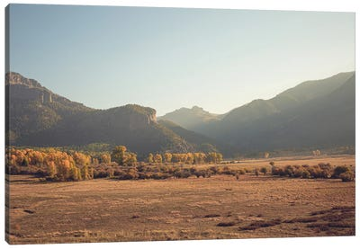 Colorful Colorado Autumn In The Mountains III Canvas Art Print