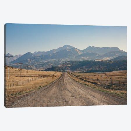 Mountain Roads Canvas Print #AHD237} by Ann Hudec Canvas Art