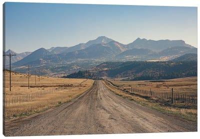 Mountain Roads Canvas Art Print