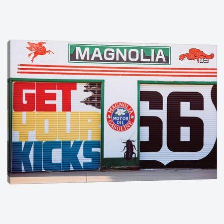 Get Your Kicks On Route 66 Canvas Print #AHD238} by Ann Hudec Canvas Print