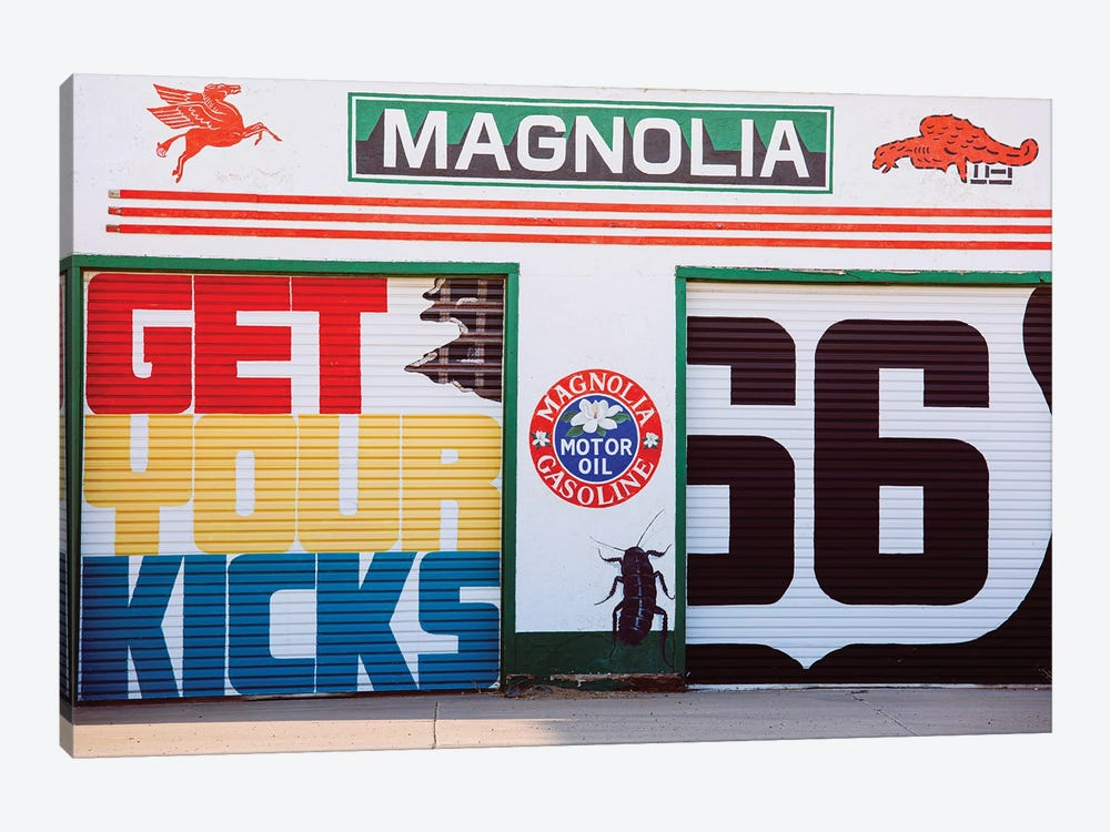 Get Your Kicks On Route 66 by Ann Hudec 1-piece Canvas Art