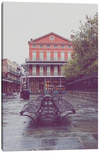 Early Morning Light French Quarter New Orleans Canvas Art Print