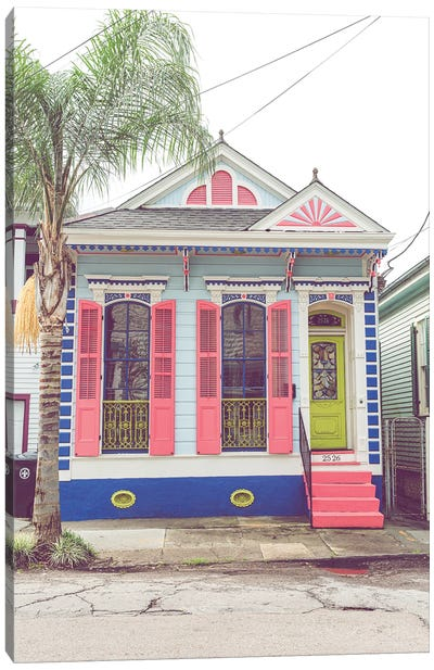Colorful New Orleans I Canvas Art Print