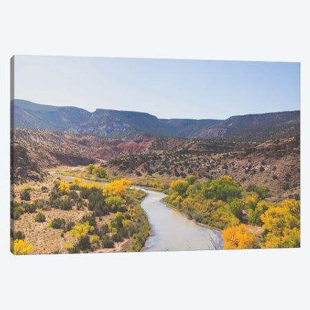 New Mexico Autumn Landscape Canvas Print #AHD284} by Ann Hudec Canvas Art Print