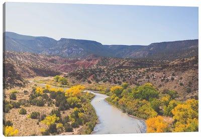 New Mexico Autumn Landscape Canvas Art Print
