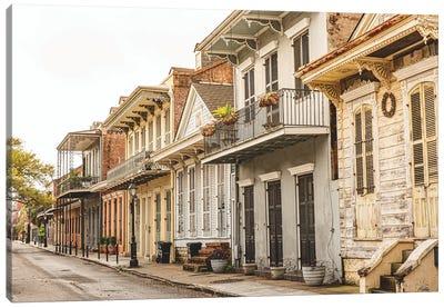 New Orleans French Quarter Morning Light Canvas Art Print