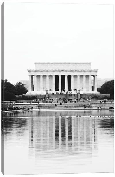 Lincoln Memorial Print Canvas Art Print