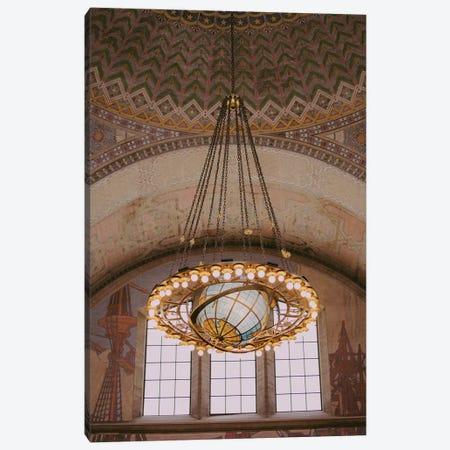 Deco Library Canvas Print #AHD34} by Ann Hudec Canvas Wall Art