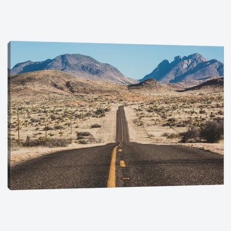Desert Highway Canvas Print #AHD38} by Ann Hudec Canvas Art Print