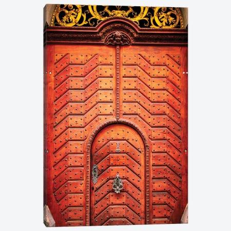 Doors Of Prague Canvas Print #AHD48} by Ann Hudec Canvas Wall Art