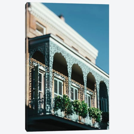 French Quarter Blues II Canvas Print #AHD56} by Ann Hudec Canvas Art