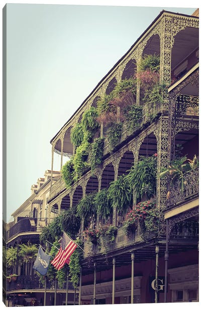 French Quarter New Orleans Canvas Art Print