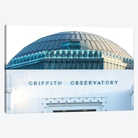 Griffith Observatory Canvas Print #AHD62} by Ann Hudec Canvas Art