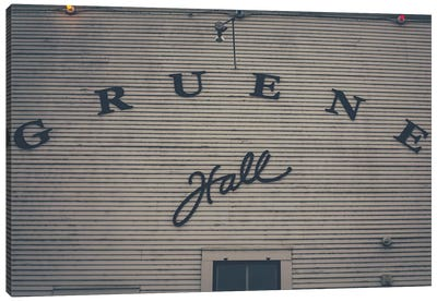 Gruene Hall Canvas Art Print