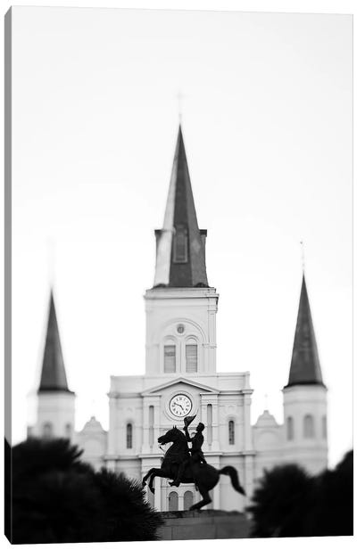 Jackson Square New Orleans Canvas Art Print