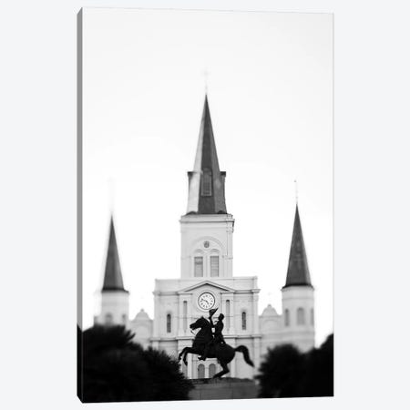 Jackson Square New Orleans Canvas Print #AHD67} by Ann Hudec Canvas Art Print
