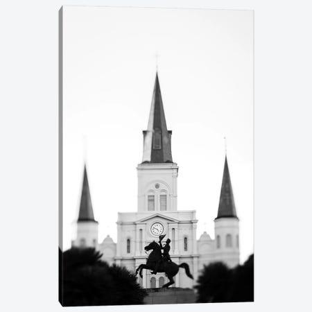 Jackson Square New Orleans Canvas Print #AHD67} by Ann Hudec Canvas Art Print