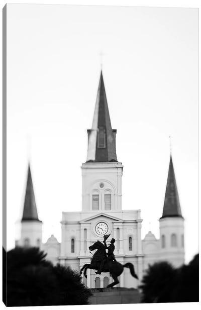 Jackson Square New Orleans Canvas Art Print
