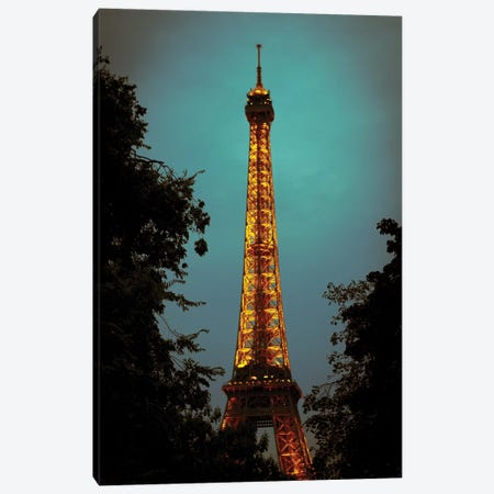 Le Eiffel Canvas Print #AHD75} by Ann Hudec Canvas Art