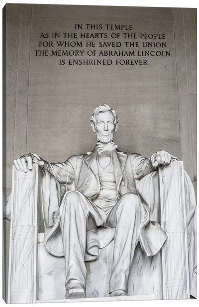 Lincoln Memorial I Canvas Art Print