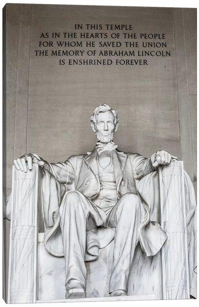 Lincoln Memorial I Canvas Art Print