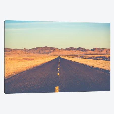 Lonesome Highway Canvas Print #AHD80} by Ann Hudec Canvas Wall Art