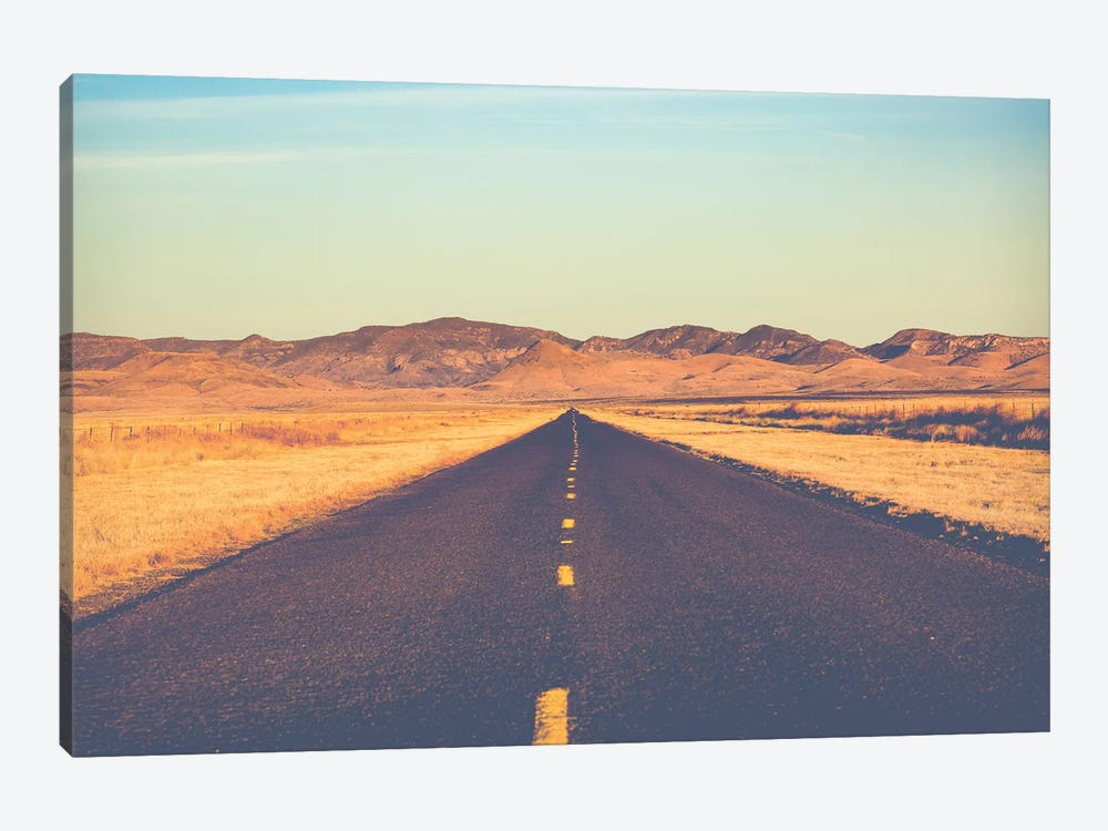 Lonesome Highway by Ann Hudec 1-piece Canvas Art