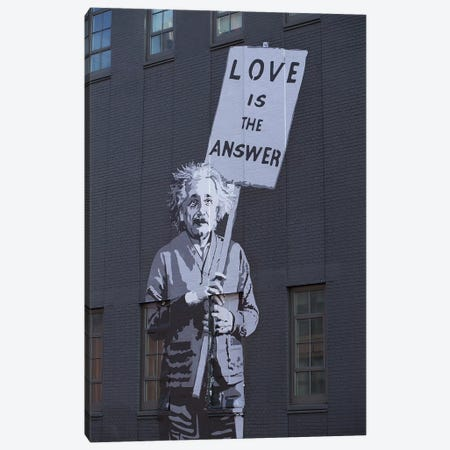 Love Is The Answer Canvas Print #AHD82} by Ann Hudec Canvas Artwork