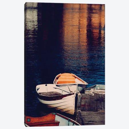Maine Rowboats 3-Piece Canvas #AHD86} by Ann Hudec Art Print