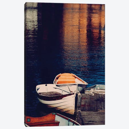 Maine Rowboats Canvas Print #AHD86} by Ann Hudec Art Print